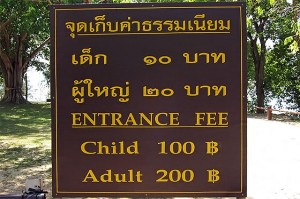 double standard pricing in thailand