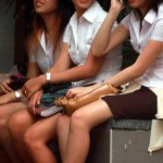 Dek Sideline Girls In Thailand