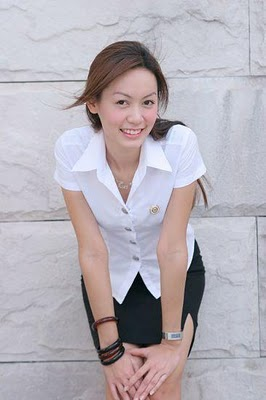 Cute Thai University Girl
