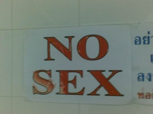 Funny Sex Sign