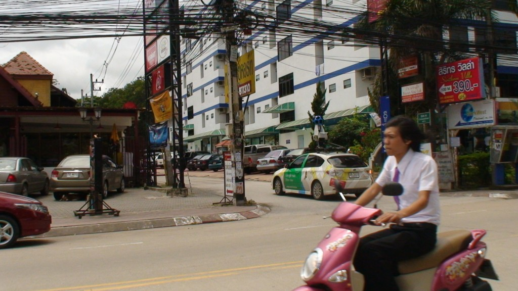 Google Map Street View Car Thailand