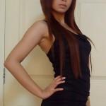 Dek Thai Sideline girl in Bangkok