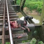 thai jihad killed by train