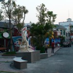 The harbour Chiang Mai