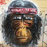 sanim yok graffiti