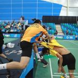 Thai Guy Punch Up at Canada Batminton Open