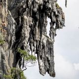 cliff diving in Thailand