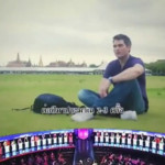 german on Thai dating show